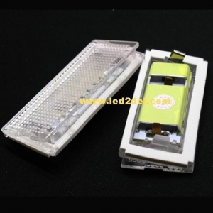 China LED License plate light for BMW E46 4D(98-03) on sale