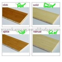 China bamboo flooring-discount compressed Carburization/natural vertical on sale