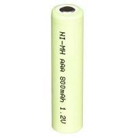 Ni-MH Cylindrical NI-MH AAA-800mAh 1.2VNI-MH AAA