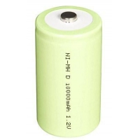 Ni-MH Cylindrical NI-MH D-10000mAh J 1.2VNI-MH D