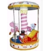China 3 seats carousel merry go round for sale/Coin operated kids ride machi... for sale
