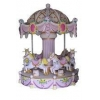 China Carousel Coin operated mini fairground rides small carousel for sale/Mechanical... for sale