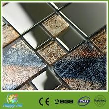 China Recommend Mosaic Cheap glass floor tile from China on sale