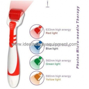 China Facial beauty machine Led Photon derma roller (F019C) on sale