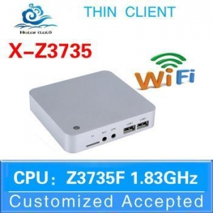China Atom PC cheap thin client Nettop PC Z3735F 1.33GHZ Support DP on sale