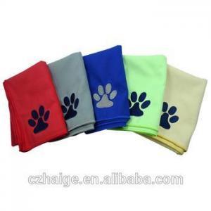China microfiber sports towel on sale