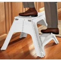 China Strong Plastic foldable chair for adult ,User-friendly design step stool on sale
