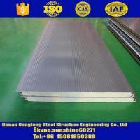 Rock wool/Glass wool/PU/Sandwich panels PU sandwich insulation panel for wall and roof
