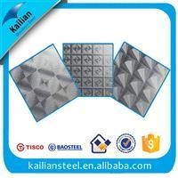 China Embossed Embossed Stainless Steel Sheet on sale