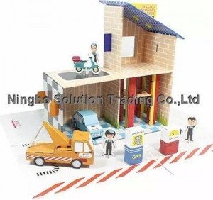 China Paper doll house educational DIY toys(PDI-006) on sale