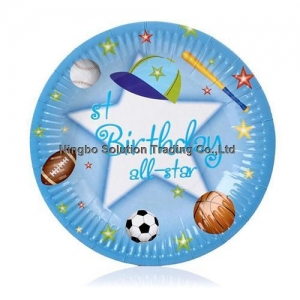 China Party Wedding Decoration Paper Plates(DPP-023) on sale