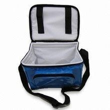 China Hot Custom Logo Printed Lunch Insulated Cooler Bag With Shoulder Strap on sale