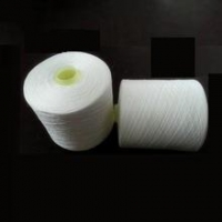 China poly/cotton sewing thread 19/2 raw white on sale