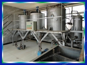 China Semi-Continuous Refining Equipment on sale