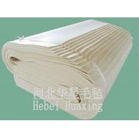 China Manufacturer 100% Industry Wool Felt,White,1-10mm on sale