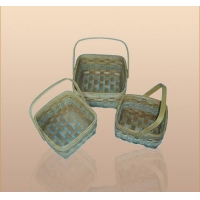 China Wooden Weave Wood chip basket on sale