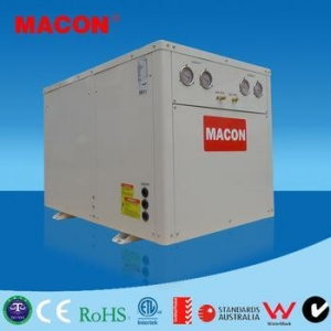 China MACON Heating&Cooling&hot water DC Inverter water to water heat pump, geothermal heat pump dc on sale