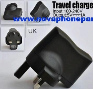 China UK USB Power Adapter charger For mobile phone on sale