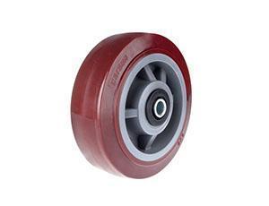 China Single wheel 4series flat polyurethane wheel on sale