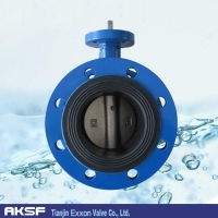 double flanged butterfly valve Double Flange Butterfly Valve