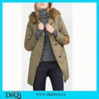 Women Wool Coat Winter Liner Trench Overcoat Winter Coat