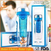 China 32oz tritan fruit infuser water bottle on sale