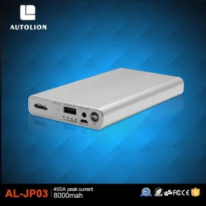 China Slim Easy Carrry Cheapest Price Portable Power Bank lithium Battery Jumper Start Pack For Smartphone on sale