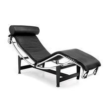 China Genuine Leather LC4 Chaise Lounge,black,white,red on sale