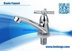 China Bathroom Vanity Faucets Contemporary Single Handle For Washing on sale