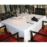High quality Square restaurant table cloth