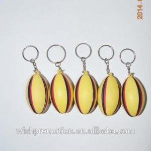 China PU toy with keychain keychain stress ball keychain stress ball on sale