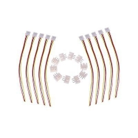 Antenna Series 10pcs JST-XH 2S Connector Balance Wire for Li-Po Batteries