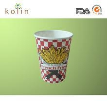 China 16oz french fries cup/chips cup on sale