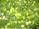 IQF Frozen Vegetables IQF spring oninos