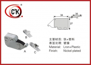 China Buffer & Catch system push open system cabinet door catch on sale