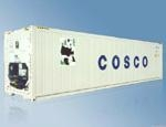 China Semi-trailer Reefer Container (40ft Standard) (RS4000) on sale