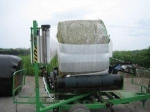 Corn silage bales packaging Non-toxic anti-UV sticky plastic wrapping silage bales