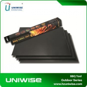 China Superior Heat-resistance And Non-stick BBQ cooking Mat/BBQ Liner on sale
