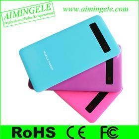 China using for iPhone/Samsung/HTC mobile power bank on sale