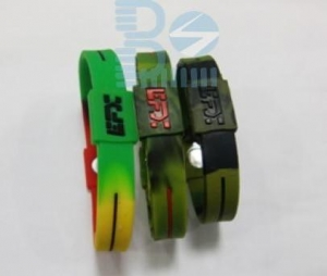 China Silicone Bracelet EFX power bracelets on sale