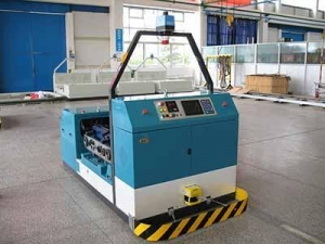 China Industrial Robot Magnetic Guidance Forklift AGV on sale