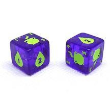 China Dice Game Colored Custom Printed Dice for Kids on sale
