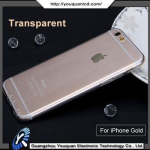 China For iphone 6/6s case transparent with TPU material case for iphone 6/6s phone on sale