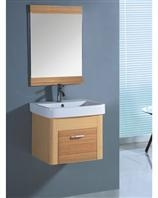 China Bamboo bathroom cabinet set on sale