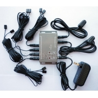 Remote Control IR Repeater/ IR Extender with 2 Receivers & 8 Emitters BD208