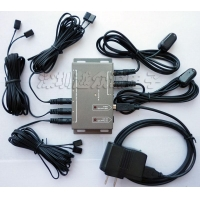 Remote Control IR Repeater/ IR Extender with 2 Receivers & 6 Emitters BU206