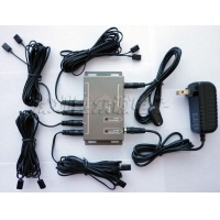 Remote Control IR Repeater/ IR Extender with 1 Receiver & 8 Emitters BD108