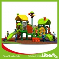Famous Resturant Modern Young Little Kids Playground Equipment for Plastic Garden