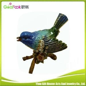 China Goalfook wholesale small metal decorative trinket boxes on sale