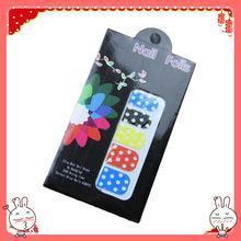 China Colorful fashion nail art stencil sticker on sale